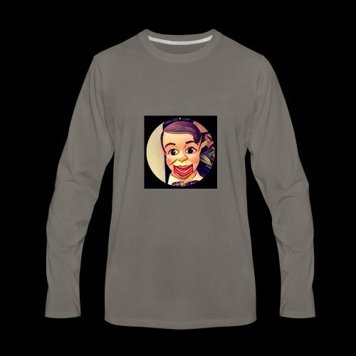 Archie logo xlarge image - Men's Premium Long Sleeve T-Shirt