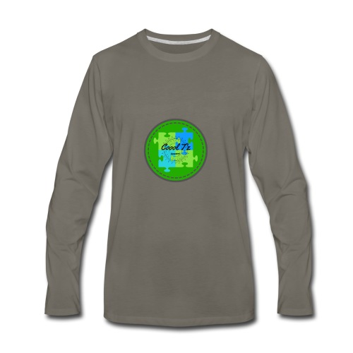 Coool T'z Green - Men's Premium Long Sleeve T-Shirt