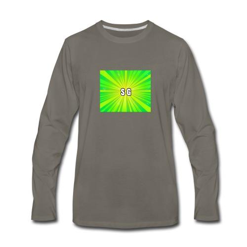 Second Gaming logo theme - Men's Premium Long Sleeve T-Shirt