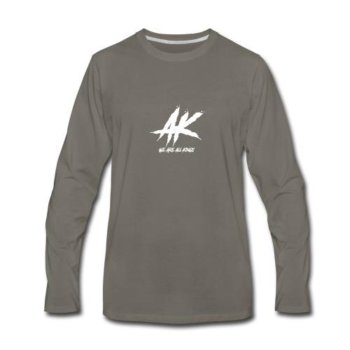 AK We are all Kings - Men's Premium Long Sleeve T-Shirt