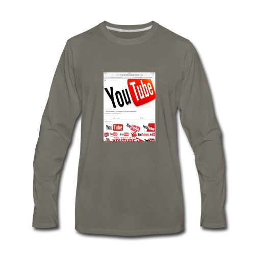 Brady Allaby Vlogs - Men's Premium Long Sleeve T-Shirt