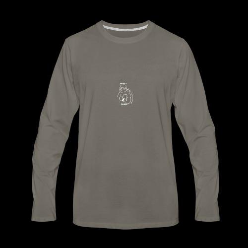 The Astronuts BOOTY CASHA Turtle - Men's Premium Long Sleeve T-Shirt