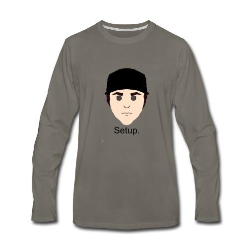 Setup Sam Squared Merch - Men's Premium Long Sleeve T-Shirt