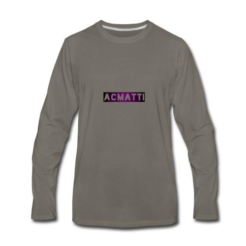 Simple ACMATTI - Men's Premium Long Sleeve T-Shirt