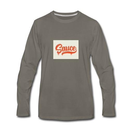 saucey brand - Men's Premium Long Sleeve T-Shirt