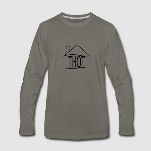 THOT House - Men's Premium Long Sleeve T-Shirt