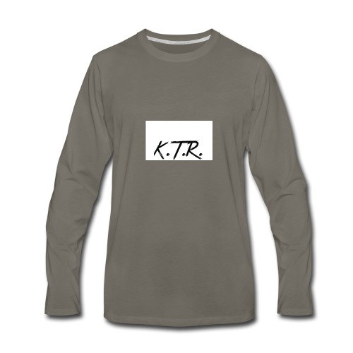 K.T.R. Merchandise - Men's Premium Long Sleeve T-Shirt