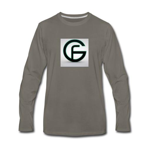 Futuer genetic gamer merch - Men's Premium Long Sleeve T-Shirt