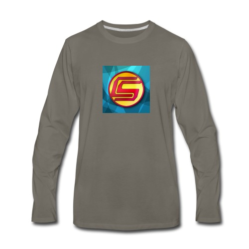 CaptainSparklez Merchandise - Men's Premium Long Sleeve T-Shirt