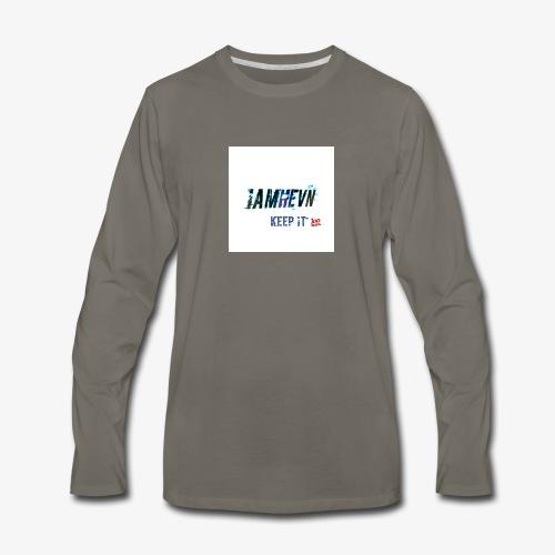 Iamhevn keep it 100 - Men's Premium Long Sleeve T-Shirt