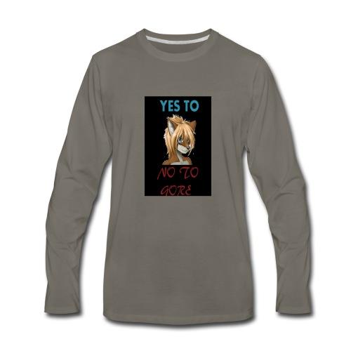 NSFW Again TShirt - Men's Premium Long Sleeve T-Shirt