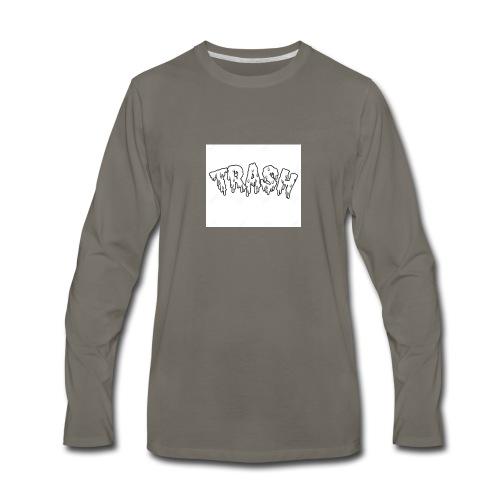 6.GODZZPRODUCTION u trash👾 - Men's Premium Long Sleeve T-Shirt