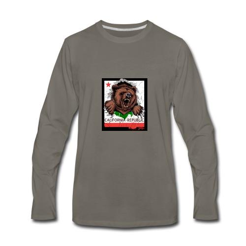 California Bear - Men's Premium Long Sleeve T-Shirt