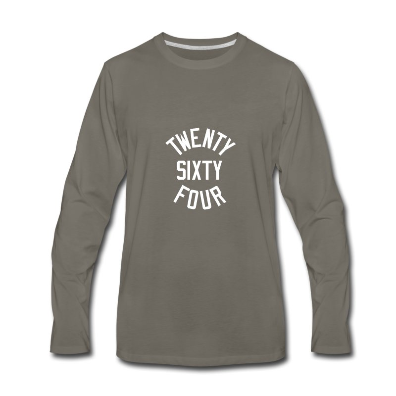 Twenty Sixty Four - Men's Premium Long Sleeve T-Shirt