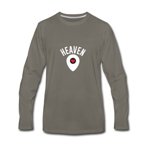 Heaven Is Right Here - Men's Premium Long Sleeve T-Shirt
