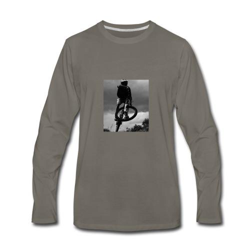 DOWNHILL. - Men's Premium Long Sleeve T-Shirt