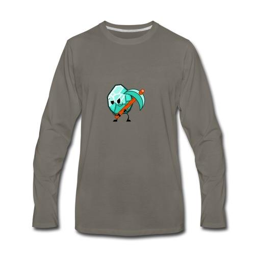 Lucky Diamond t-shirt - Men's Premium Long Sleeve T-Shirt