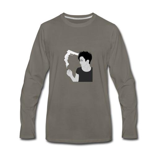 Smoking gun - Men's Premium Long Sleeve T-Shirt