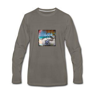 Leiny tropical vacation - Men's Premium Long Sleeve T-Shirt