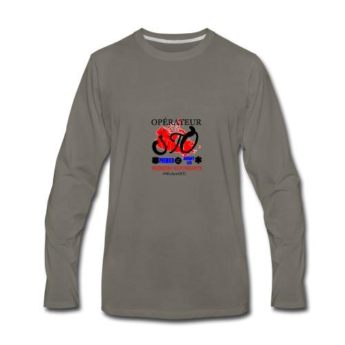 Operateur STO plus size - Men's Premium Long Sleeve T-Shirt