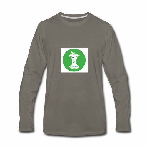 Recycle the Core - Men's Premium Long Sleeve T-Shirt