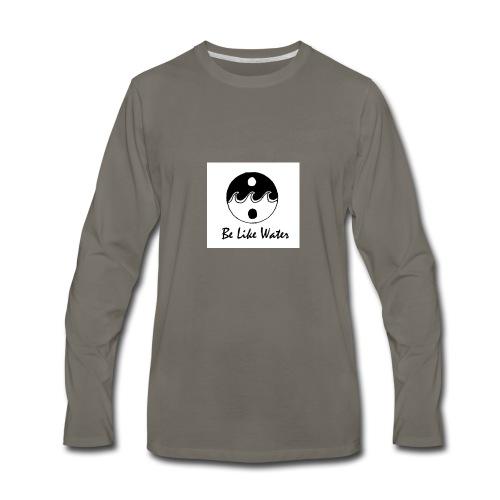 Be Like Water YING - Men's Premium Long Sleeve T-Shirt