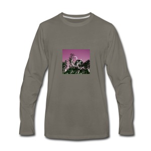 Pink Forest Gart - Men's Premium Long Sleeve T-Shirt