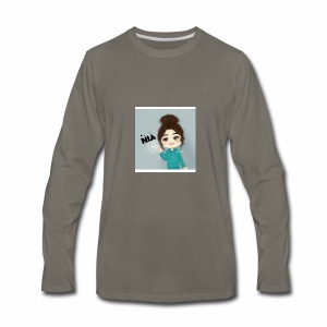 NIA FAMILY - Men's Premium Long Sleeve T-Shirt
