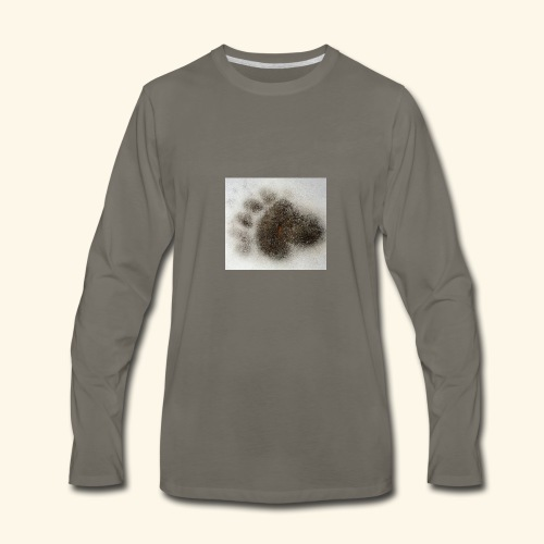 Bear footprint - Men's Premium Long Sleeve T-Shirt