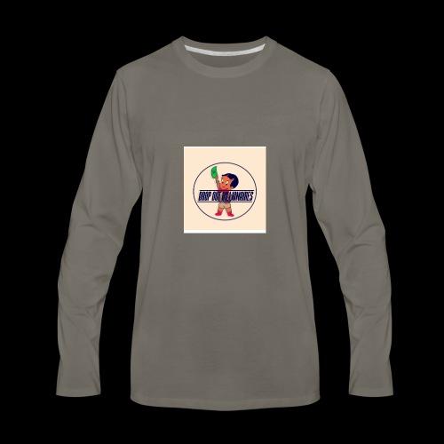 DROP OUT BILLIONAIRES ATTIRE - Men's Premium Long Sleeve T-Shirt