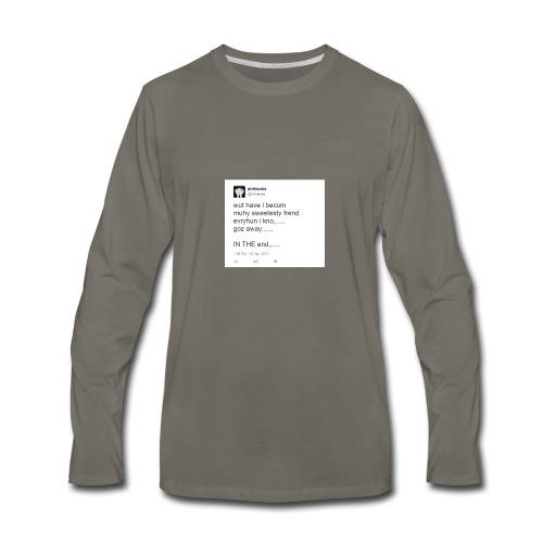disgusting twitter ... - Men's Premium Long Sleeve T-Shirt