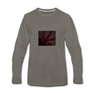 received_1632651173676868 - T-shirt Premium à manches longues pour hommes