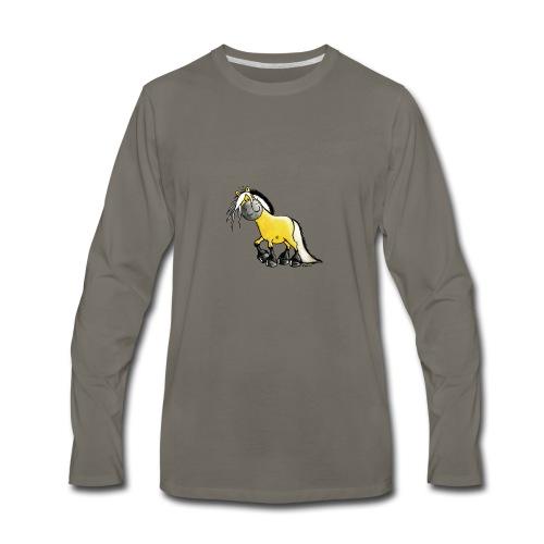 fjord_horse - Men's Premium Long Sleeve T-Shirt