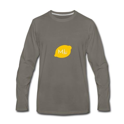 Mad Lemons Logo - Men's Premium Long Sleeve T-Shirt