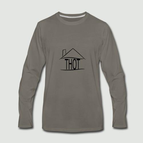 THOT House - Men's Premium Long Sleeve T-Shirt