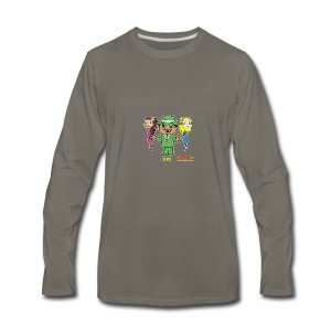 Slick from Marvin the Simp Cartoon - Men's Premium Long Sleeve T-Shirt