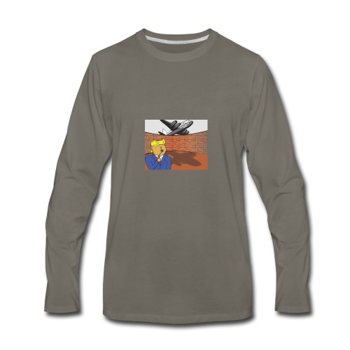 Donalds Wall - Men's Premium Long Sleeve T-Shirt