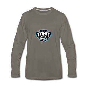 Team logo (Tahit) - Men's Premium Long Sleeve T-Shirt