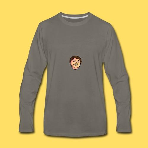 Face - Men's Premium Long Sleeve T-Shirt