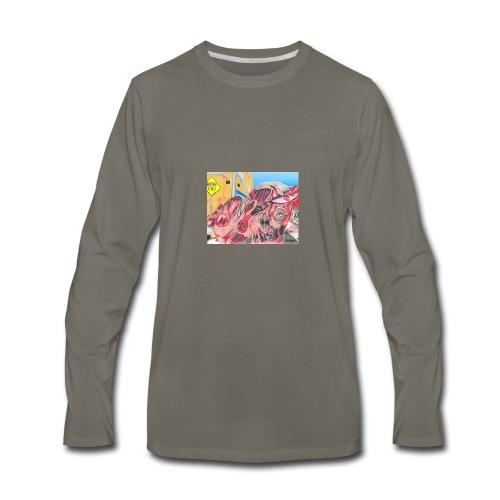 skribble TWB - Men's Premium Long Sleeve T-Shirt