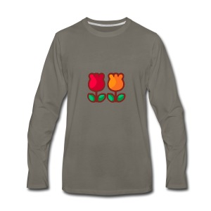 Loving Tulips - Men's Premium Long Sleeve T-Shirt
