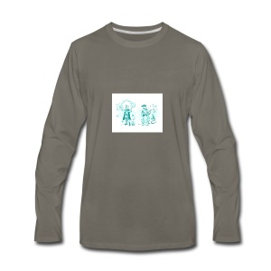 TEST DESIGN - Men's Premium Long Sleeve T-Shirt