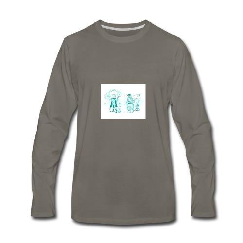 TEST DESIGN - Men's Premium Long Sleeve T-Shirt