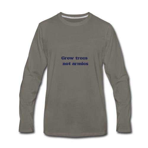 Grow trees - Men's Premium Long Sleeve T-Shirt