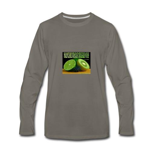 Be Grateful - Men's Premium Long Sleeve T-Shirt