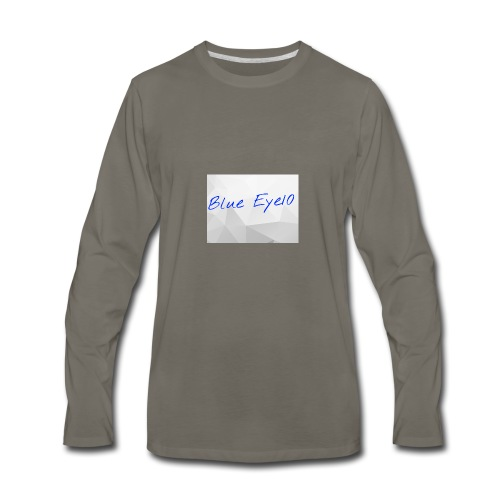 Blue Eye10 - Men's Premium Long Sleeve T-Shirt