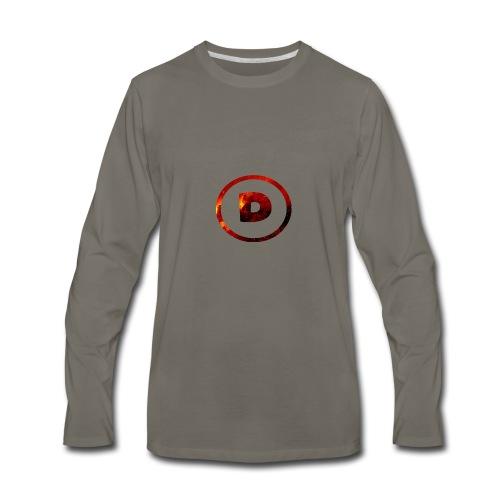 Hoodie with LOGO! - Men's Premium Long Sleeve T-Shirt