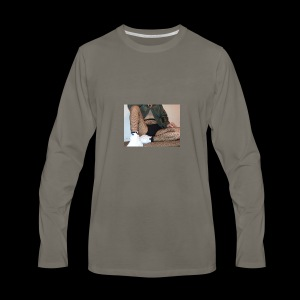 self modeled - Men's Premium Long Sleeve T-Shirt