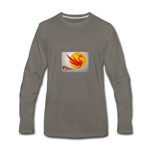 Asian Phoenix - Men's Premium Long Sleeve T-Shirt
