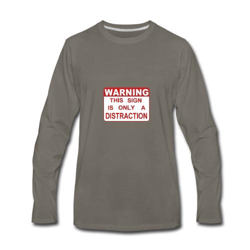 Distraction - Men's Premium Long Sleeve T-Shirt